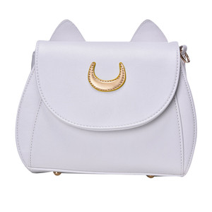 White Sailor Moon Luna Cat Handbag
