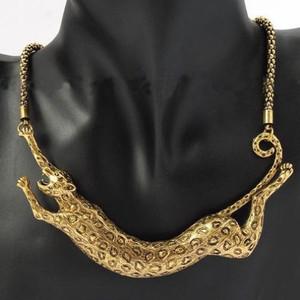 Golden Leopard Pendant