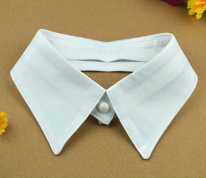 Detachable Blouse Neck Collar Spread Style