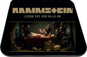 "Rammstein - Liebe Ist Fur Alle Da 9x7"" Mousepad"
