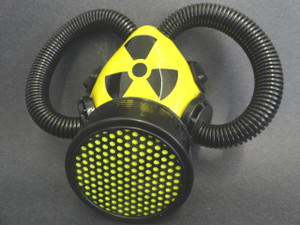 Respirator - Radioactive with Tubes