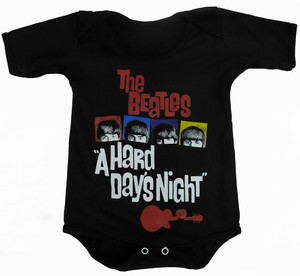 Baby Onesie - The Beatles - A Hard Day's Night