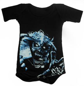 Rakva Baby Onesie - Iron Maiden - Identity Card