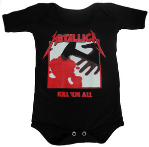 Baby Onesie - Metallica - Kill 'Em All