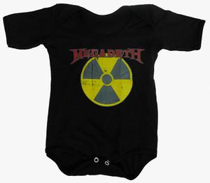 Rakva Baby Onesie - Megadeth - Radioactive