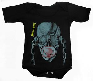 Rakva Baby Onesie - Megadeth - Vic Rattlehead