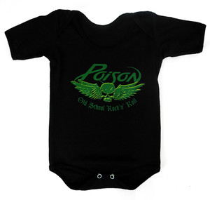 Rakva Baby Onesie - Poison - Old School Rock N Roll