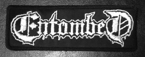 "Entombed - Logo 5x3"" Embroidered Patch"