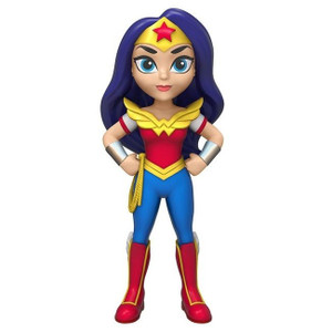 Pop! Figurines - Rock Candy Super Hero Girls - Wonder Woman