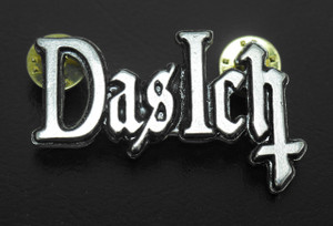 "Das Ich - 2"" Logo Metal Badge"