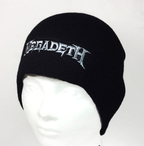 Megadeth - Logo Embroidered Knit Beanie