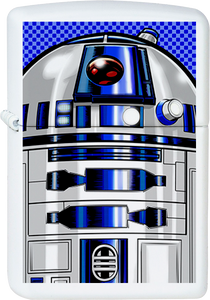 Star Wars R2-D2 White Lighter