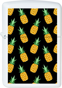 Pineapple Wallpaper White Lighter