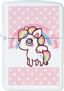 Chibi Unicorn White Lighter