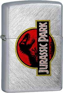Jurassic Park Chrome Lighter