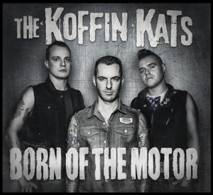 "The Koffin Kats - Born of the Motor 4x4"" Color Patch"