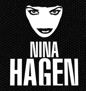 "Nina Hagen - Face 4x4"" Printed Patch"