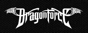 "Dragonforce Logo 5x2.5"" Printed Patch"