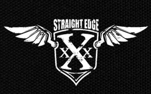 "Straight Edge Crest 5x3"" Printed Patch"