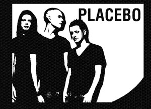 "Placebo Band 4x3"" Printed Patch"