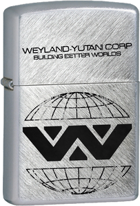 Wyland-Yutani Corp Chrome Lighter