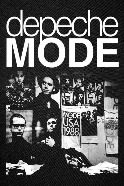 depeche mode 101 backpatch 12x16. Black Bedroom Furniture Sets. Home Design Ideas