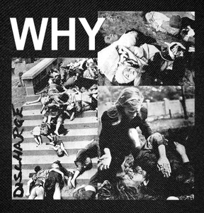 Discharge - Why Backpatch 12X12""