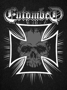 Entombed - Skull Backpatch 12x15