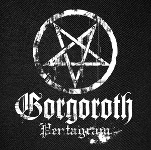 Gorgoroth - Pentagram Backpatch 12x12