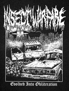 Insect Warefare - Evolved Into Obliteration Backpatch 11x15""