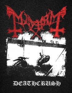 "Mayhem - Deathcrush Backpatch 12x14"""