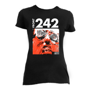 Front 242 - Tyranny Face Blouse T-Shirt