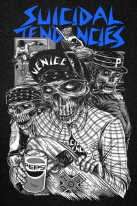 Suicidal Tendencies - Venice Backpatch 11x15""
