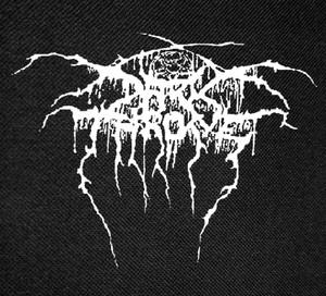"""Darkthrone - True Norwegian Black Metal Backpatch 13x13"""""""