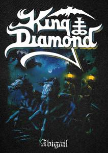 "King Diamond - Abigail Backpatch 11x15"""