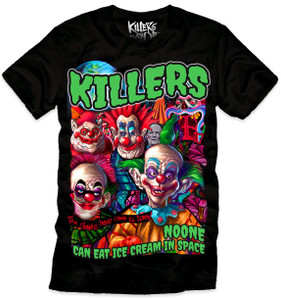 Killers Never Die - Killer Klowns From Outer Space - Ice Cream T-Shirt