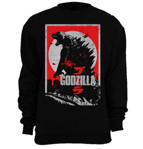 Godzilla 2014 Crew Neck Sweatshirt