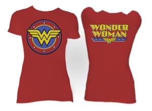 Wonder Woman Logo Blouse T-Shirt