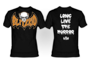 Blitzkid - Long Live the Horror T-Shirt