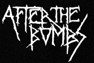 "After the Bombs - Logo 6x4"" Printed Patch"