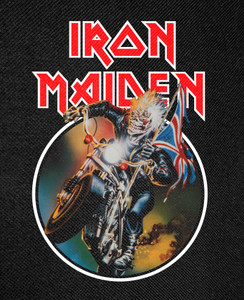 Iron Maiden - Maiden England Backpatch 11x15""