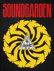"""Soundgarden - Badmotorfinger Backpatch 12x15"""""""