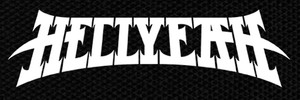 "Hellyeah Logo 5.5x2"" Printed Patch"