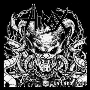 "Hirax - Satan's Fall 4x4"" Printed Sticker"