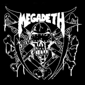 "Megadeth - Last Rites 4x4"" Printed Sticker"