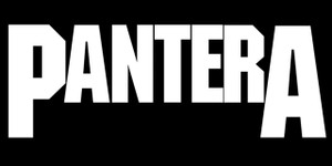"Pantera Logo 5.5x2.75"" Printed Sticker"