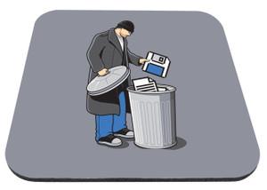 """Electronic Trash 9x7"""" Mousepad"""