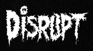 "Disrupt  - Logo 6x4"" Printed Patch"