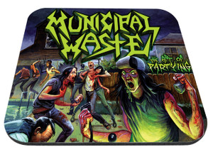 """Municipal Waste - The Art of Partying 9x7"""" Mousepad"""