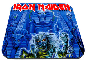 """Iron Maiden - Somewhere Back in Time Live 9x7"""" Mousepad"""